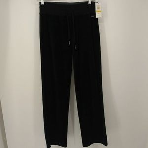 New Calvin Klein Small Track Pants Athletic Black
